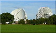 SJ7971 : Jodrell Bank Radio Telescopes by Jonathan Billinger