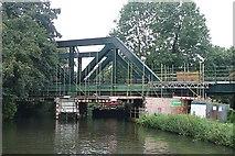 SU9947 : Shalford Railway Bridge by Graham Horn