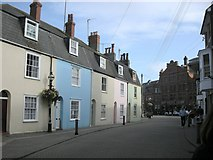 SY6878 : Weymouth-Cove Street by Ian Rob