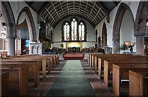 NY2623 : St John's church, Keswick, Cumbria - East end by John Salmon