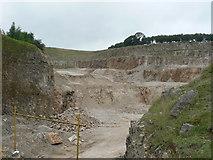 SK2055 : Hoe Grange Quarry Ballidon. by Mick Lobb