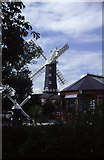 TA0233 : Little and large at Skidby windmill by Chris Allen