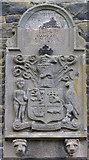 D3115 : Plaque, Barbican Gate, Glenarm by Kenneth  Allen