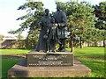 "D4002 : ""American"" Memorial, Larne by Kenneth  Allen"