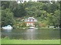 SU8184 : Riverside house below Danesfield by Rod Allday