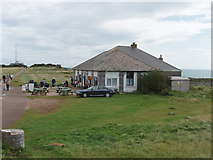 SX9456 : Napoleonic Fort cafe at Berry Head by David Hawgood