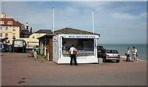 TR3752 : Deal Seafood Stall, Beach Street, Deal by John Salmon