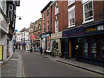 SO4959 : High street by andy dolman