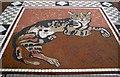 J3279 : 'Castle Cat' mosaic, Belfast Castle by Rossographer