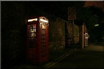 SK5639 : Phone Box on Lenton Road by David Lally