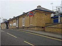 TQ1289 : Pinner tube station by Oxyman