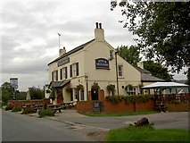 SK5854 : The Fox and Hounds Blidworth by Steve  Fareham