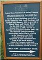 NZ3376 : Watch House Museum Information Board by Antonia