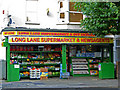 TQ2689 : Long Lane Supermarket, East Finchley by Stephen McKay