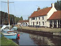 TG4022 : The Pleasure Boat Inn, Hickling Broad by Renata Edge