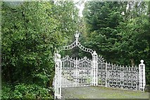 N0438 : Gates at Carrickynaghtan by Graham Horn