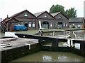 SP2466 : British Waterways Depot at Hatton, Warwickshire by Roger  Kidd