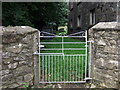 SM9828 : Gate at Beulah by ceridwen