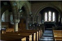 SY0191 : Farringdon  Church  Interior by Liz Moon
