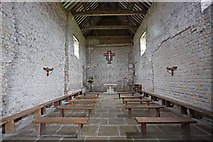 TM0308 : St Peter on the Wall, Bradwell juxta Mare, Essex - East end by John Salmon