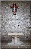 TM0308 : St Peter on the Wall, Bradwell juxta Mare, Essex - Sanctuary by John Salmon