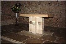 TM0308 : St Peter on the Wall, Bradwell juxta Mare, Essex - Altar by John Salmon