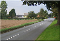 TM1551 : Road north through Henley by Andrew Hill