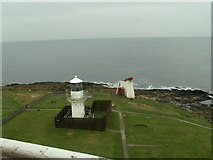 NJ9967 : View from the Kinnaird Head Castle Lighthouse by hayley green