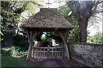 TR3451 : St Martin, Great Mongeham, Kent - Lych gate by John Salmon