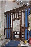 TR3451 : St Martin, Great Mongeham, Kent - Screen at west end by John Salmon