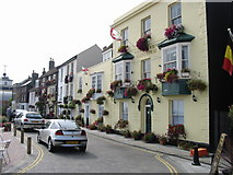 TR3752 : Beach Street, near the seafront, Deal by Nick Smith