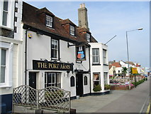 TR3752 : The Port Arms on the A258 Prince of Wales Terrace by Nick Smith