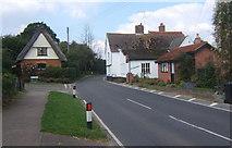 TM0848 : Somersham village by Andrew Hill
