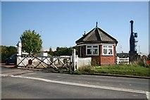 TF3243 : Swing bridge control booth by Richard Croft