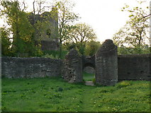 SO3129 : Longtown Castle by Colin Madge