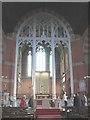 TQ3571 : Chancel screen in All Saints, Sydenham by Stephen Craven