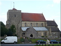 TQ1711 : St. Andrew's church, Steyning by pam fray