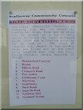 HU4039 : Scalloway Community Council skip sign by Nick Mutton