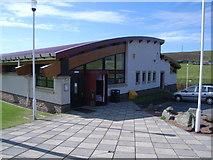 HU4039 : Scalloway Leisure Centre by Nick Mutton