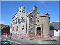 HU4039 : Scalloway Town Hall by Nick Mutton