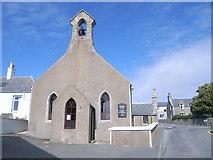 HU4039 : Scalloway Methodist Church by Nick Mutton