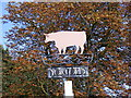 TM3968 : Yoxford Village Sign by Adrian Cable