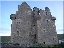 HU4039 : Scalloway Castle at dusk by Nick Mutton