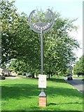 TM0848 : Village sign Somersham by Keith Evans