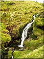 NY3328 : Waterfall in Scales Beck by Andy Beecroft