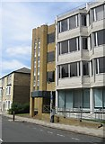 TL4557 : Vacant office block - Hills Road / Norwich Street by Given Up