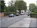 SP1198 : Bus jam on Lichfield Road by Peter Whatley