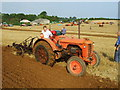 TF0109 : Vintage ploughing by John Poyser