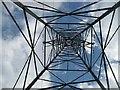 NN8933 : Another up the pylon shot by Richard Webb