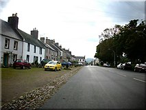 NT8127 : Town Yetholm in the Borders. by James Denham